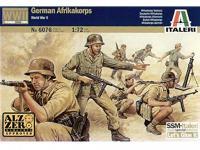 Soldados Alemanes , Africa Korps (Vista 2)