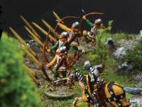 Castillo bajo asedio - Guerra de los 100 años 1337/1453  (Vista 28)