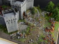Castillo bajo asedio - Guerra de los 100 años 1337/1453  (Vista 29)