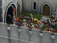 Castillo bajo asedio - Guerra de los 100 años 1337/1453  (Vista 30)