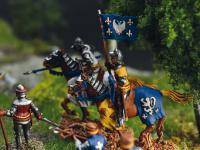 Castillo bajo asedio - Guerra de los 100 años 1337/1453  (Vista 31)