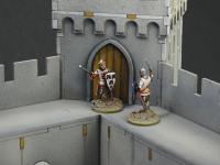 Castillo bajo asedio - Guerra de los 100 años 1337/1453  (Vista 33)