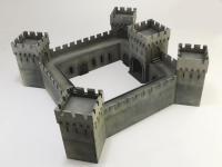 Castillo bajo asedio - Guerra de los 100 años 1337/1453  (Vista 22)