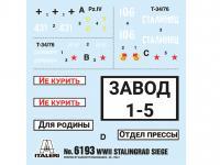 Asedio de Stalingrado 1942 - Set de batalla (Vista 35)