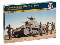 M14 / 41 con infantería italiana (Vista 4)