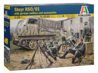 Steyr RSO/01 with German Soldiers (Vista 8)