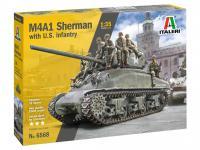 M4A1 Sherman con Infantería de EE.UU. (Vista 6)