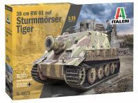 38 cm RW 61 auf Sturmmorser Tiger (Vista 5)