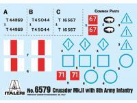 Crusader Mk. II with 8th Army Infantry (Vista 8)