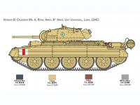 Crusader Mk. II with 8th Army Infantry (Vista 10)