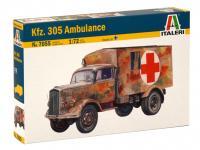Opel Blitz Kfz.305 Ambulancia (Vista 4)