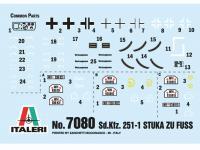 Sd. Kfz. 251/1 Wurfrahmen Stuka zu Fuss (Vista 12)