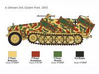 Sd. Kfz. 251/1 Wurfrahmen Stuka zu Fuss (Vista 14)
