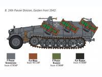 Sd. Kfz. 251/1 Wurfrahmen Stuka zu Fuss (Vista 15)