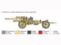 15cm Field Howitzer 10,5 cm Field Gun (Vista 15)