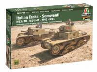 Italian Tanks - Semoventi M13/40 - M14/41 - M40 - M41 (Vista 8)