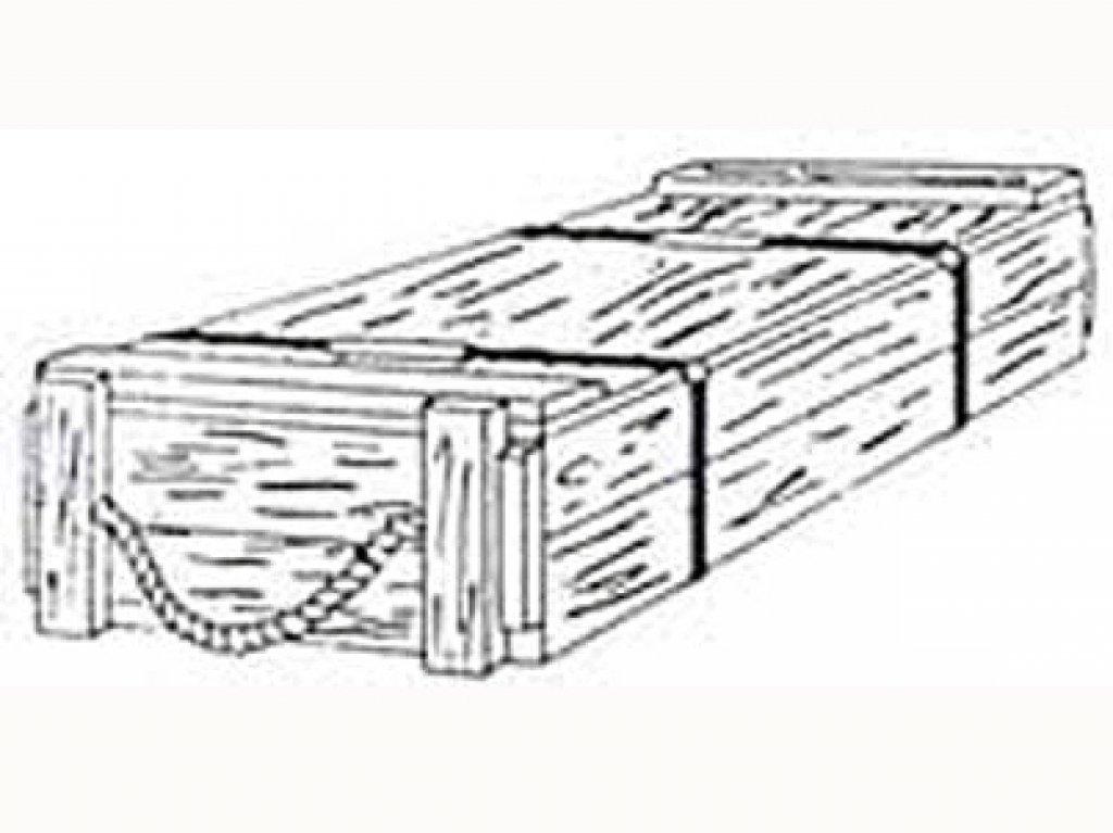 Cajas Municion US 75 mm  (Vista 1)