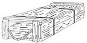Cajas Municion US 105 mm  (Vista 1)