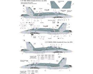 F/A-18A + /B/CF-188  (Vista 2)