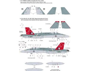F/A-18A + /B/CF-188  (Vista 3)