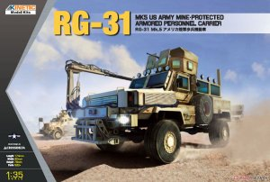 RG-31 Mk5 US Army Mine-protected Armored  (Vista 1)