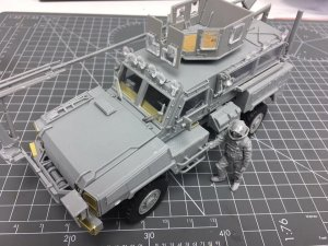 RG-31 Mk5 US Army Mine-protected Armored  (Vista 2)