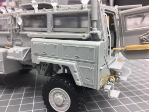 RG-31 Mk5 US Army Mine-protected Armored  (Vista 6)