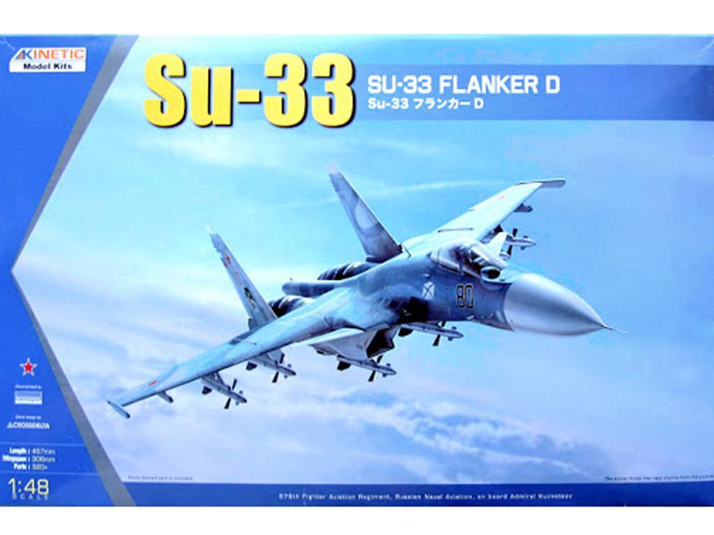 SU-33 SEA Flanker (Vista 1)