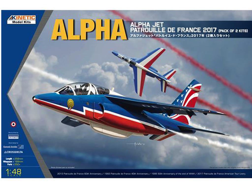 Alpha Jet Patrouille de 2017 (Vista 1)