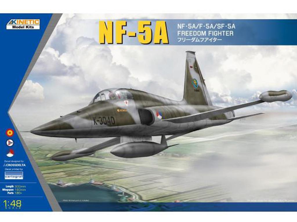 NF-5A / F-5A / SF-5A Freedom Fighter (Vista 1)