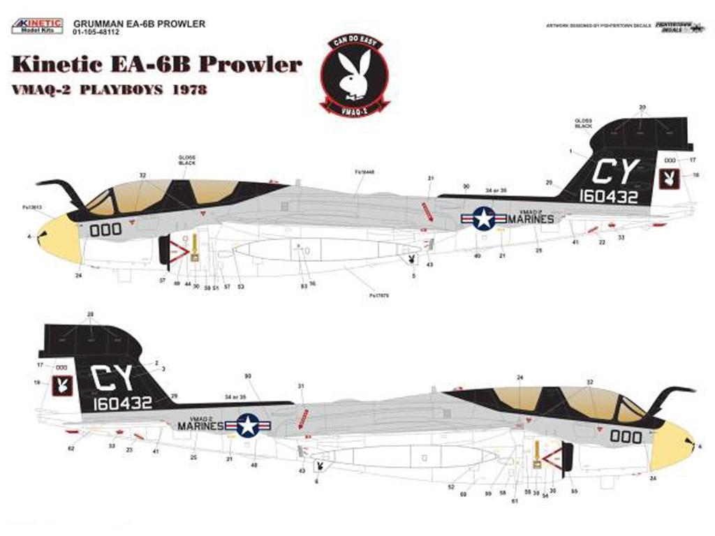 Grumman EA-6B VMAQ-2 (Vista 2)