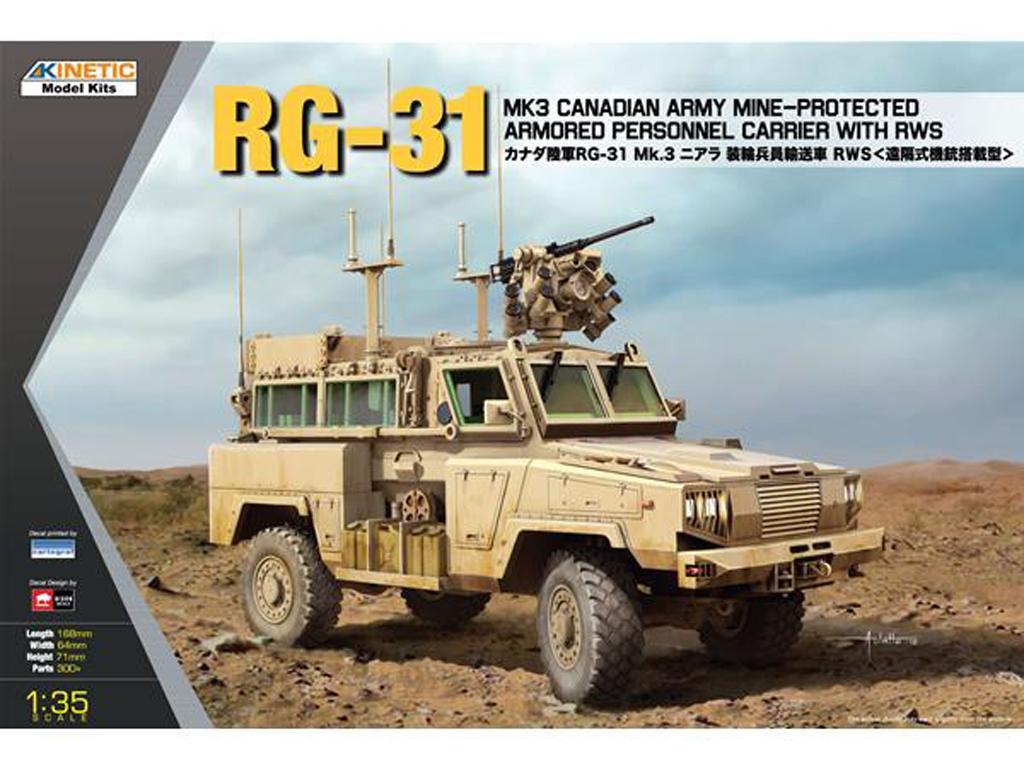 RG-31 MK3 Canada ARMY W/ Crows (Vista 1)