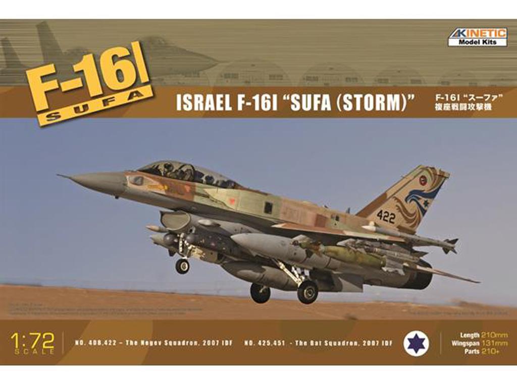 F-16I Israeli Air Force  (Vista 1)