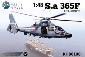 Sa 365F.1 DAUPHIN II - Marine Nationale   (Vista 1)