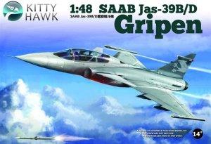 Jas 39 B /D. Two seat Gripen  (Vista 1)