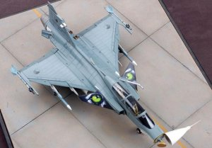 Jas 39 B /D. Two seat Gripen  (Vista 3)