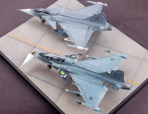 Jas 39 B /D. Two seat Gripen  (Vista 6)
