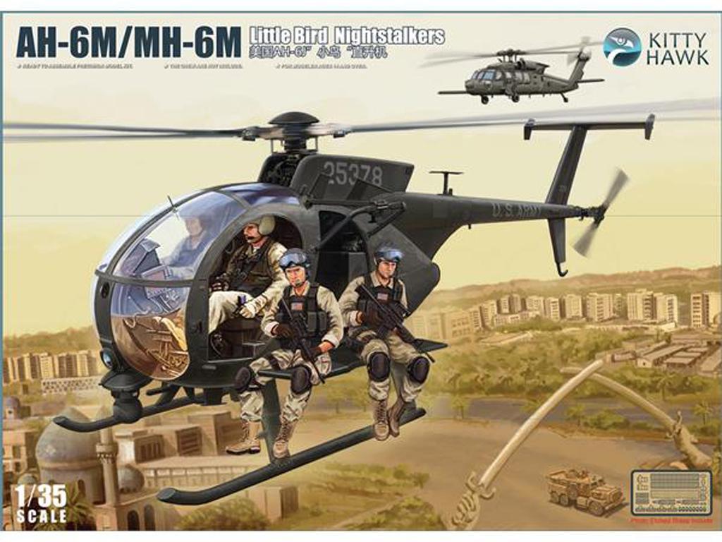 AH-6M, MH-6M little bird Nightstalker (Vista 1)