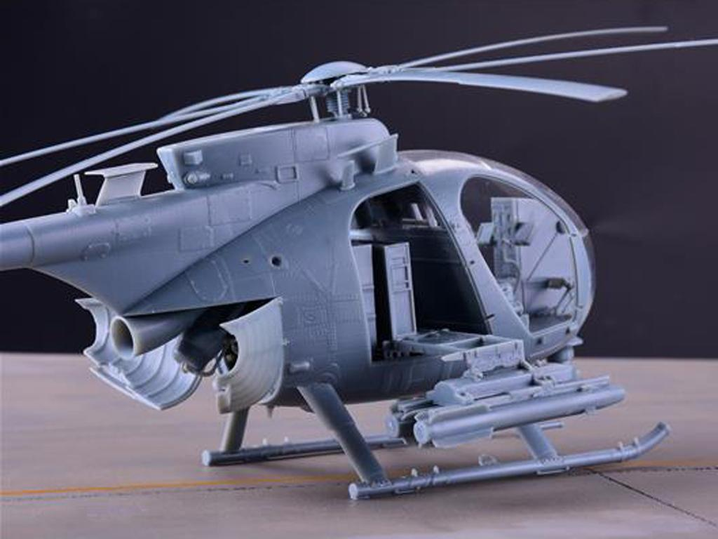 AH-6M, MH-6M little bird Nightstalker (Vista 2)