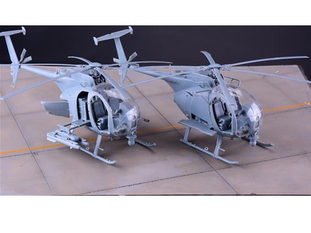 AH-6M, MH-6M little bird Nightstalker (Vista 3)