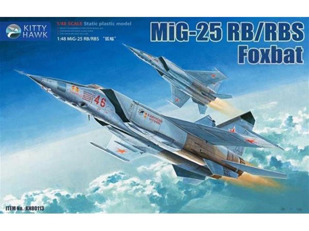 Mig-25 RB/ RBT Foxbat (Vista 1)