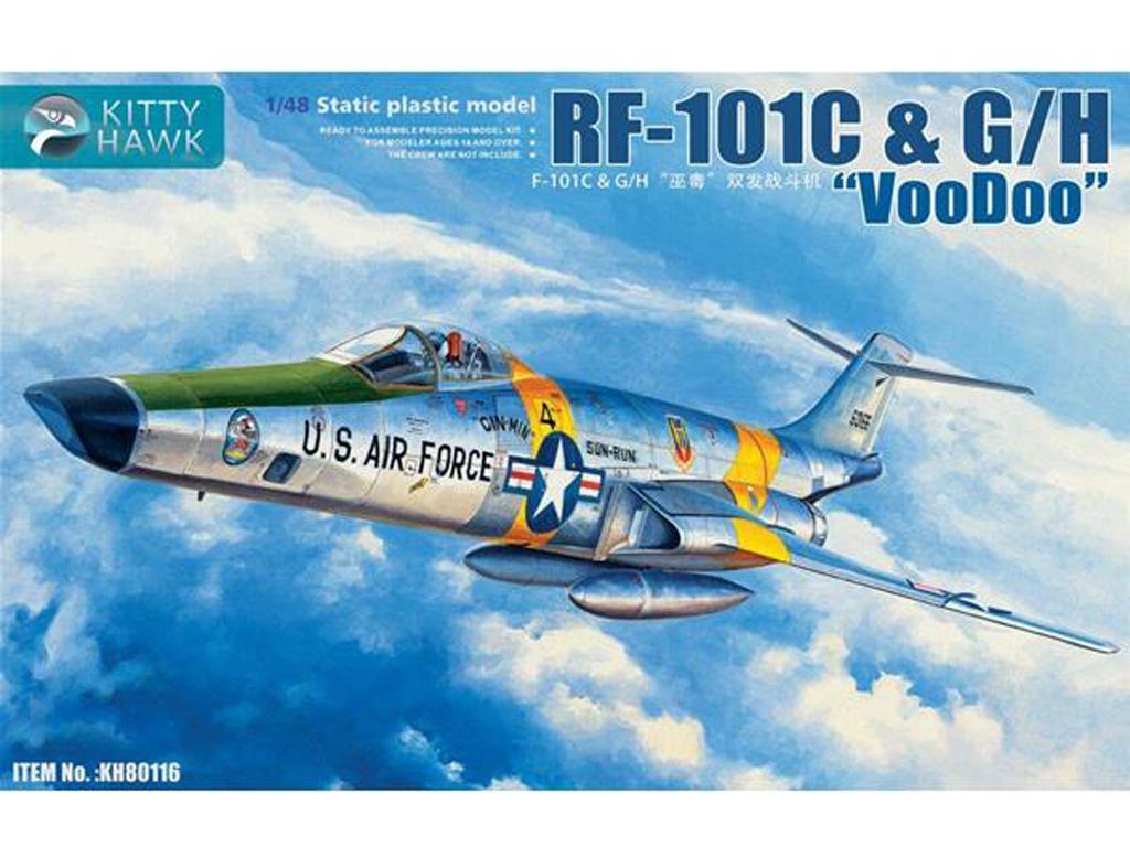 RF-101 C G/H Voodoo (Vista 1)