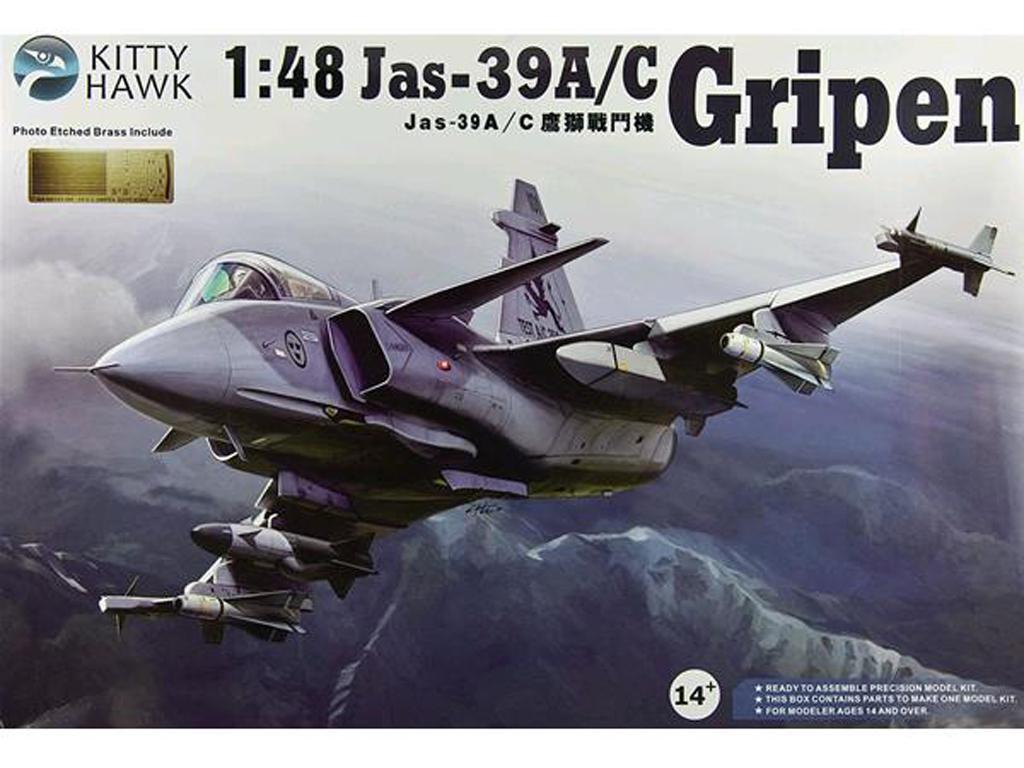 Jas-39A/C Gripen (Vista 1)