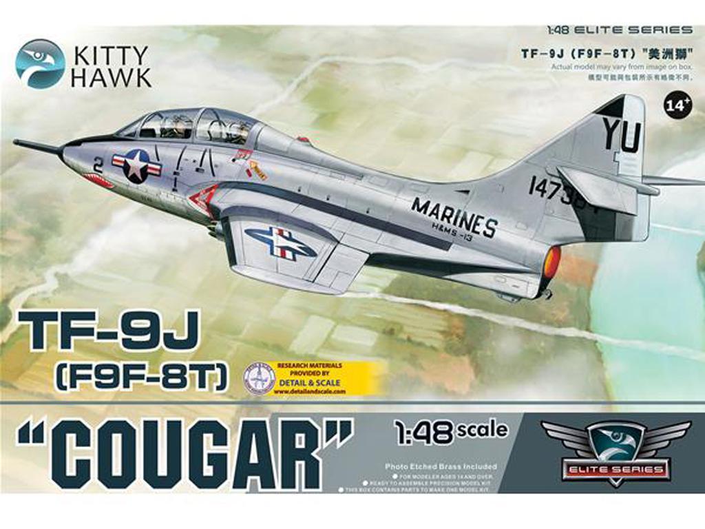 Grumman F9F/F-9 Cougar  (Vista 1)