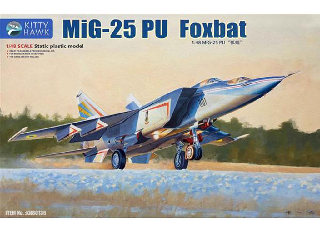Mig-25 PU Foxbat (Vista 1)