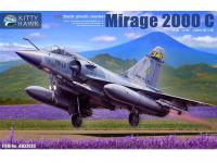 Mirage 2000 C con 1 figura piloto (Vista 2)