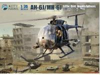 AH-6J/MH-6J Pajarillo con 6 figuras de r (Vista 7)