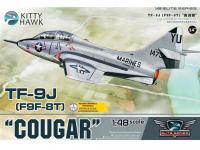 Grumman F9F/F-9 Cougar  (Vista 4)