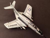 Grumman F9F/F-9 Cougar  (Vista 6)