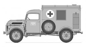 Steyr 1500A Ambulance Truck  (Vista 5)